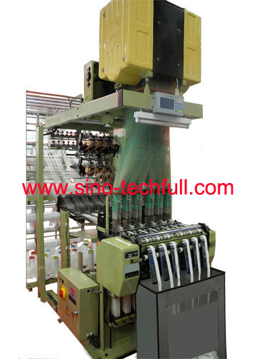 jacquard needle loom for narrow webbing