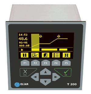 T200 Ramping Temperature Profile Controller