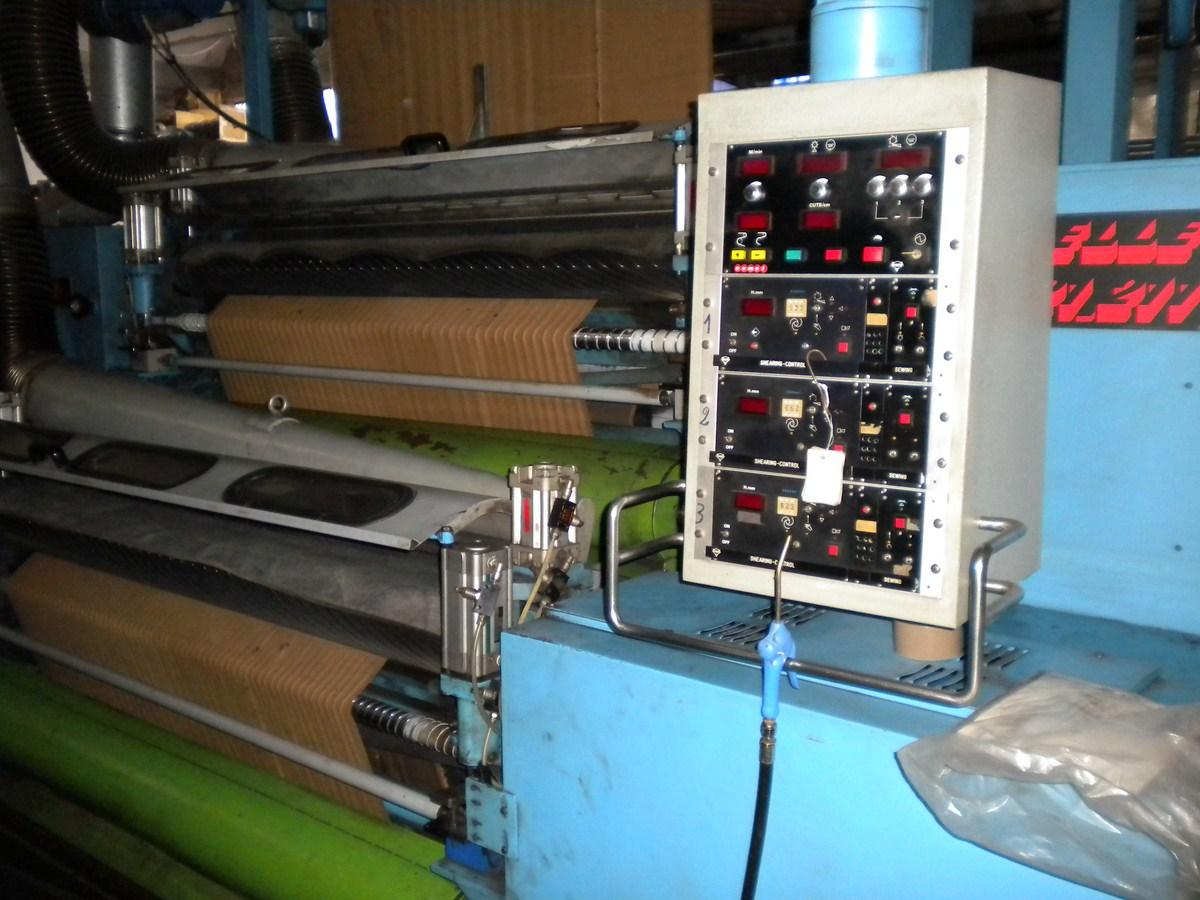 Triple shearing machine