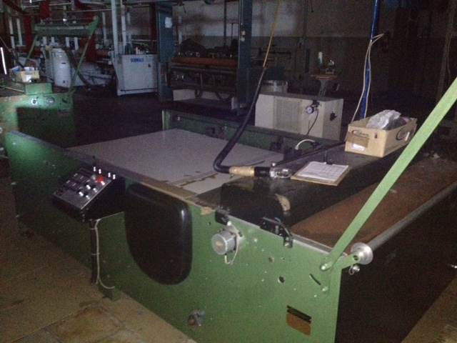 1 CARL SCHMALE DURATE LONGITUDINAL SLITTING MACHINE, MODEL C111 YEAR 1986