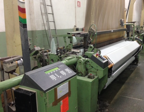 2 DORNIER JACQUARD LOOMS, MODEL HTV8/J 3.40M YEAR 1995