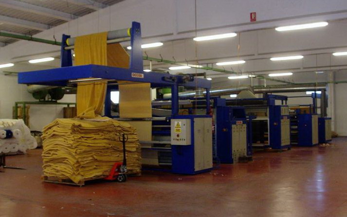 COMPLETE FABRIC FINISHING LINE