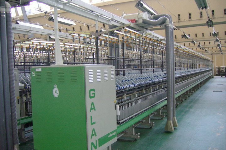 Complete 10300 Spindles Ring Spinning Pl