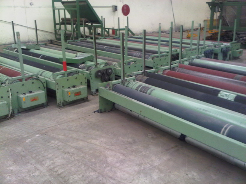 Big Roll Batcher for Woven Cloth