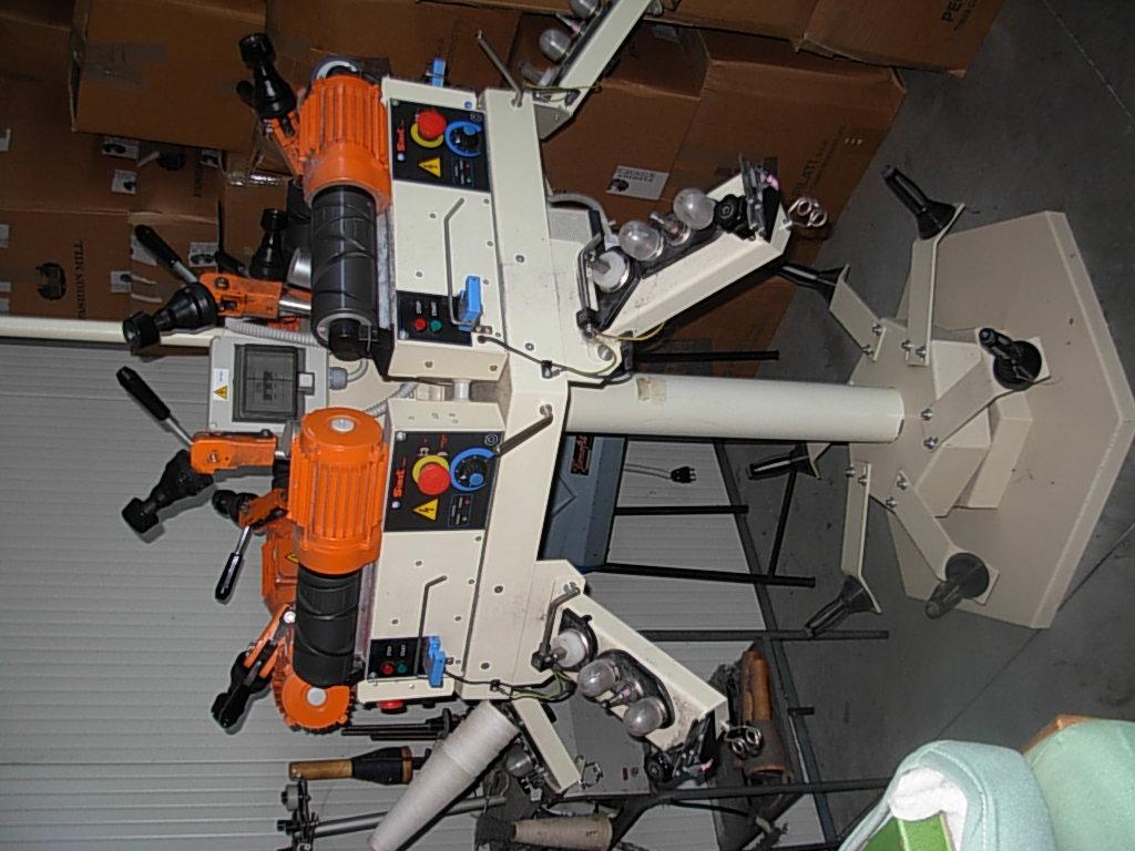 macchina  roccatrice  6  teste